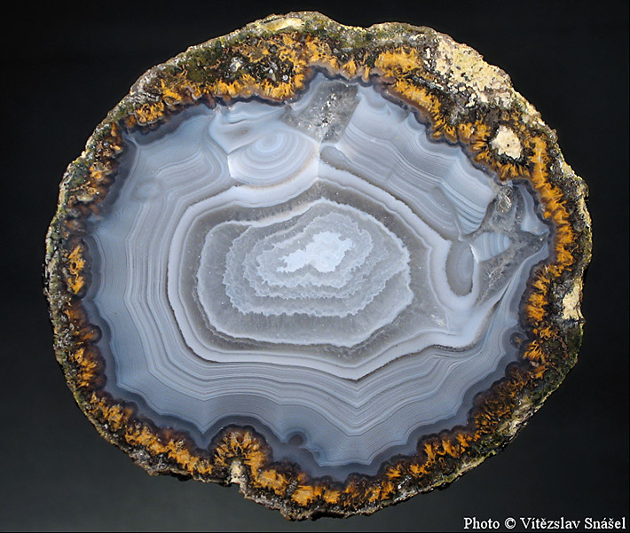 Agate nodule from Chihuahua, Mexico