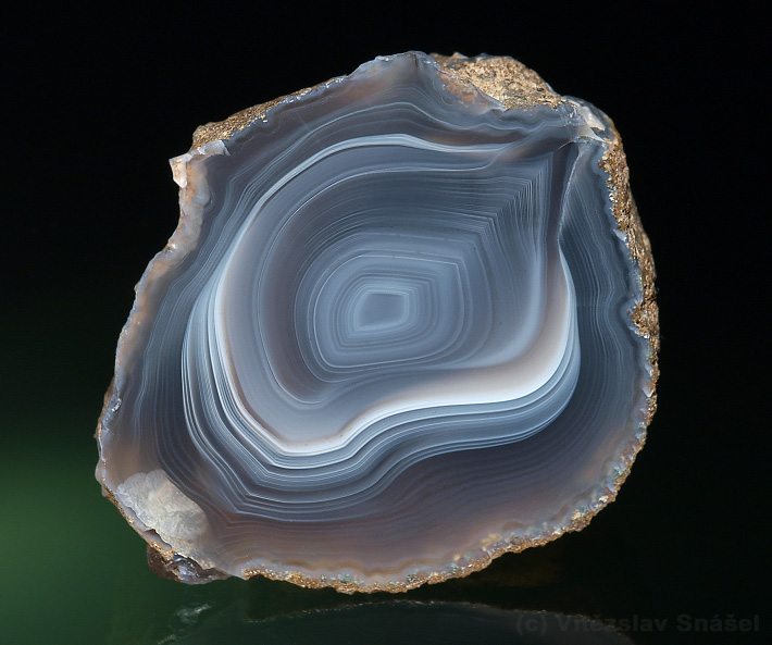 Agate from Morcinov, Czech Republic