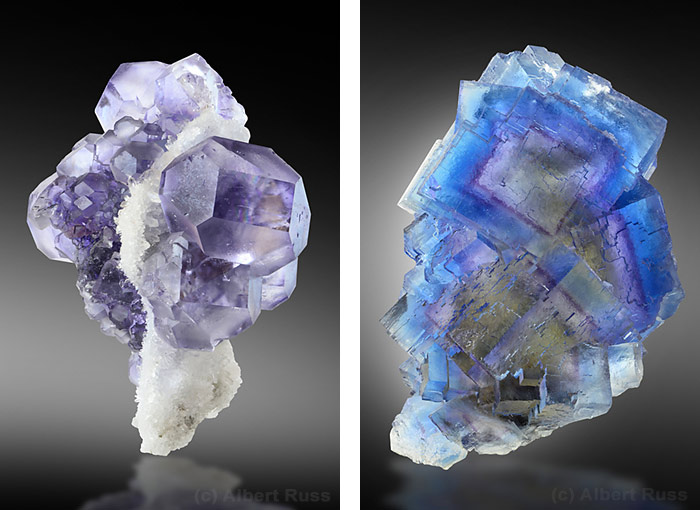 Aqua Blue and Green Fluorite Crystal Cluster BF1