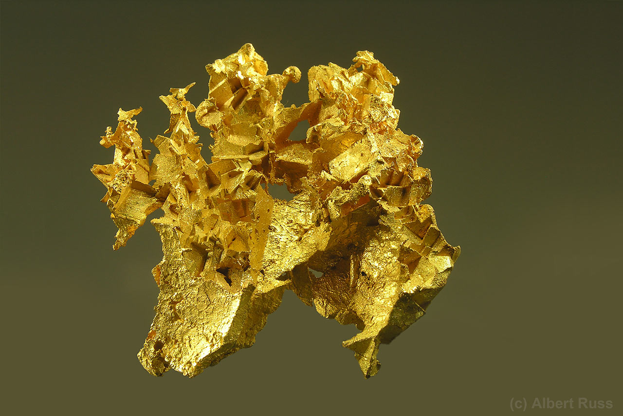 Native gold chunk from Australia