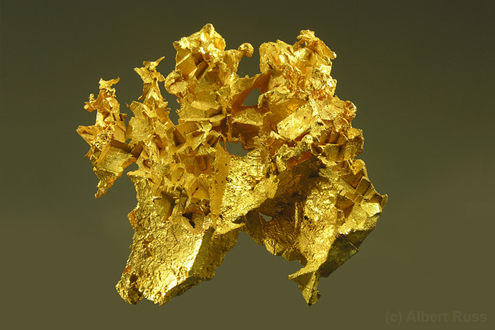 Native gold from Australia