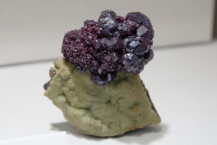 Cuprite and smithsonite from Tsumeb, Namibia