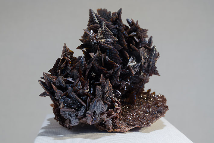 Descloizite crystals from Namibia