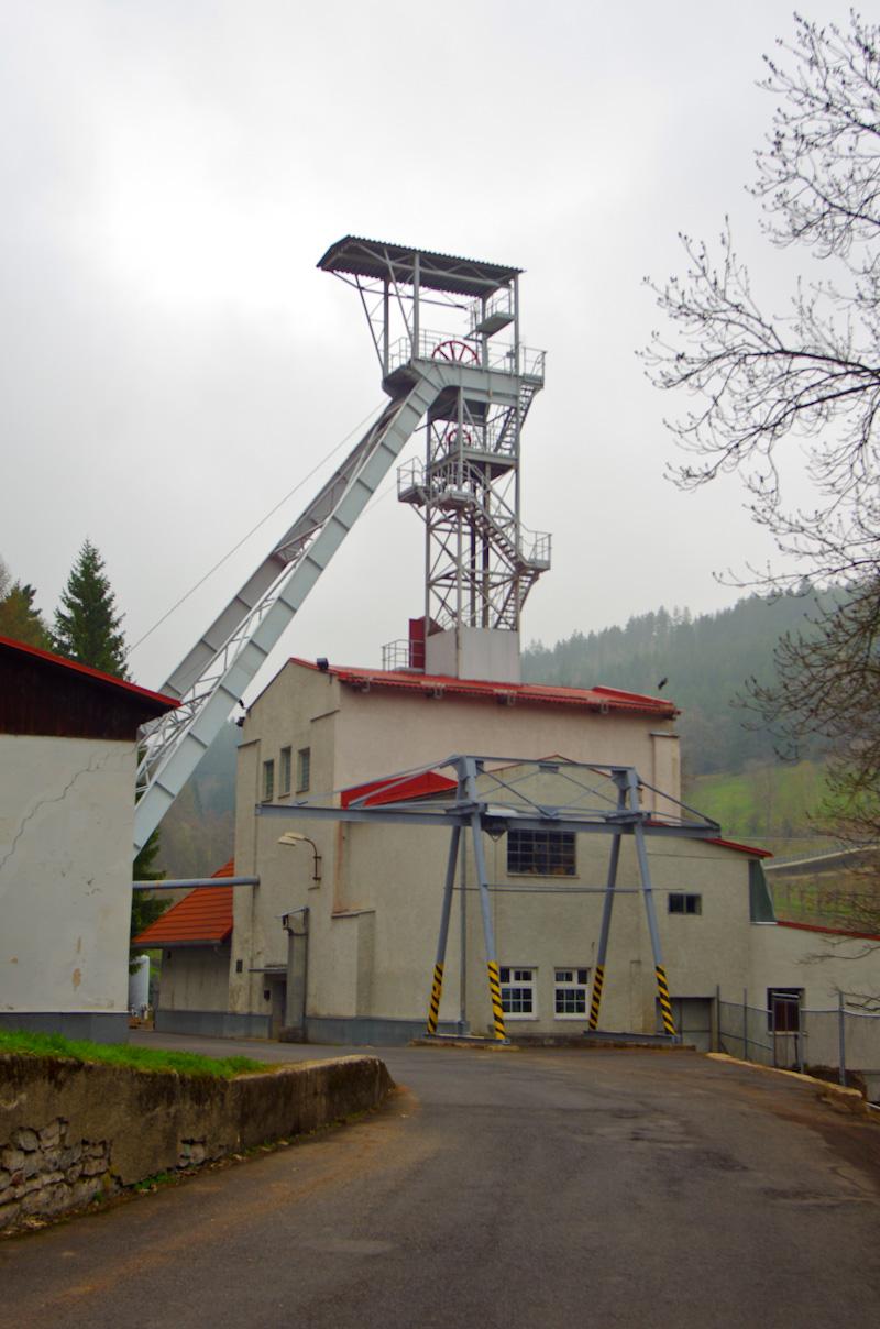 Jáchymov, šachta Svornost, Czech Republic