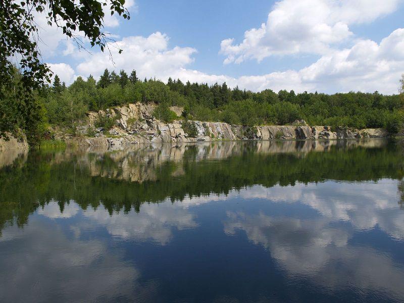 Leštinka, lom Zvěřinov, Czech Republic