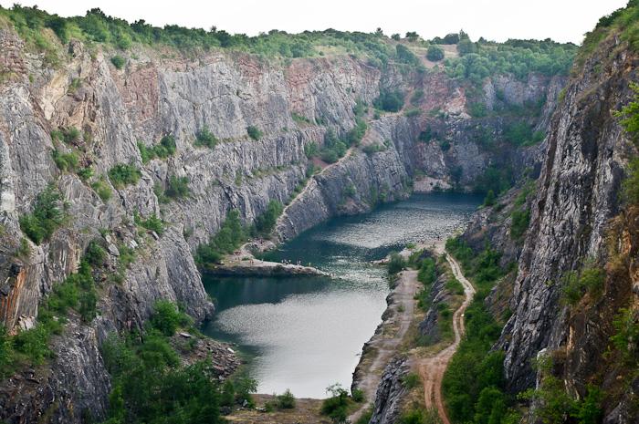 Mořina, lom Velká Amerika, Czech Republic