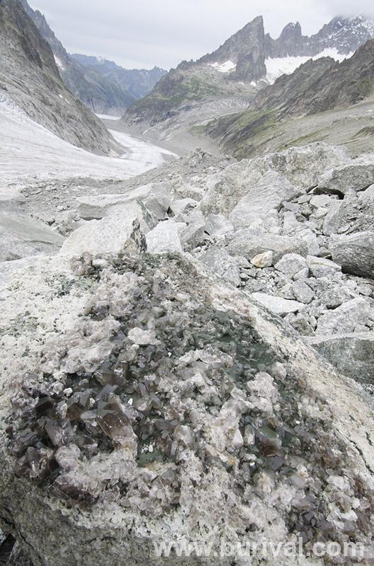Mt. Blanc Massif, France