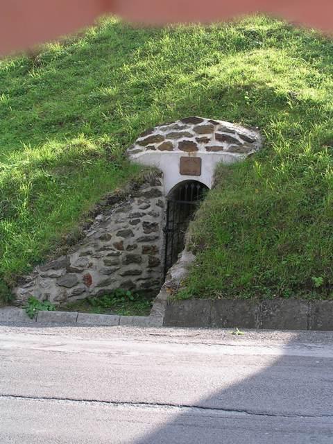 Smolník, štola na náměstí, Czech Republic
