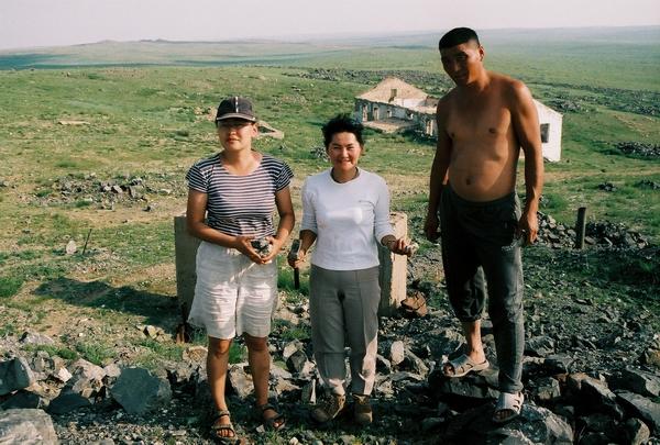 Tomnaj wolframitovka (Sn-W), Mongolia