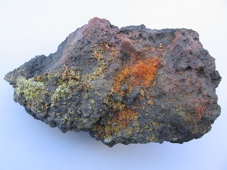 Sulphur, Alacranite, Realgar