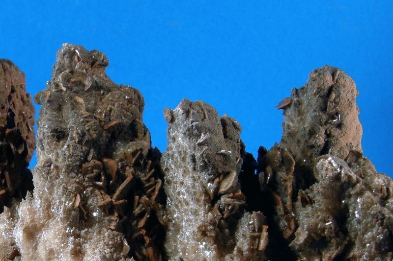 Calcite, Baryte