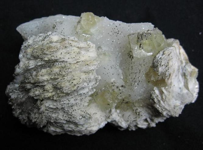 Baryte, Fluorite
