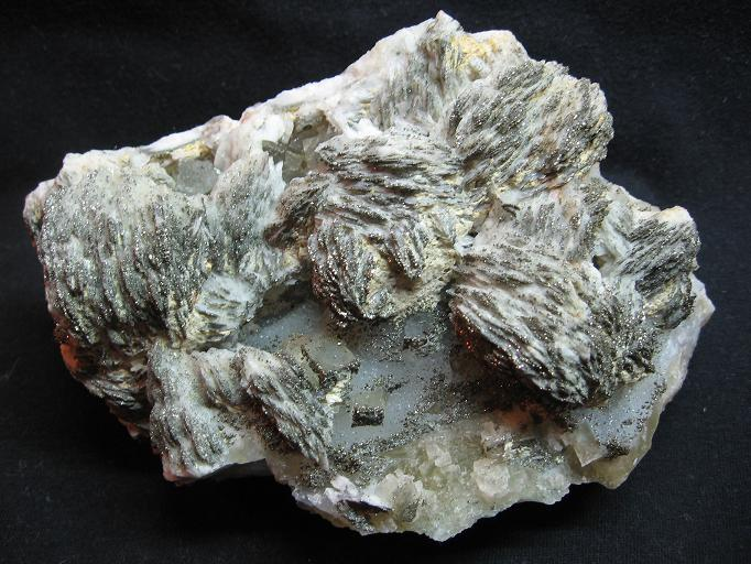 Baryte, Fluorite, Pyrite