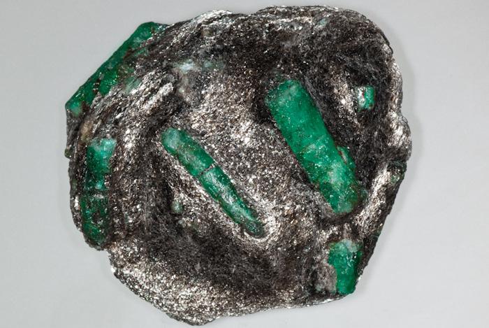 Beryl (var. Emerald)