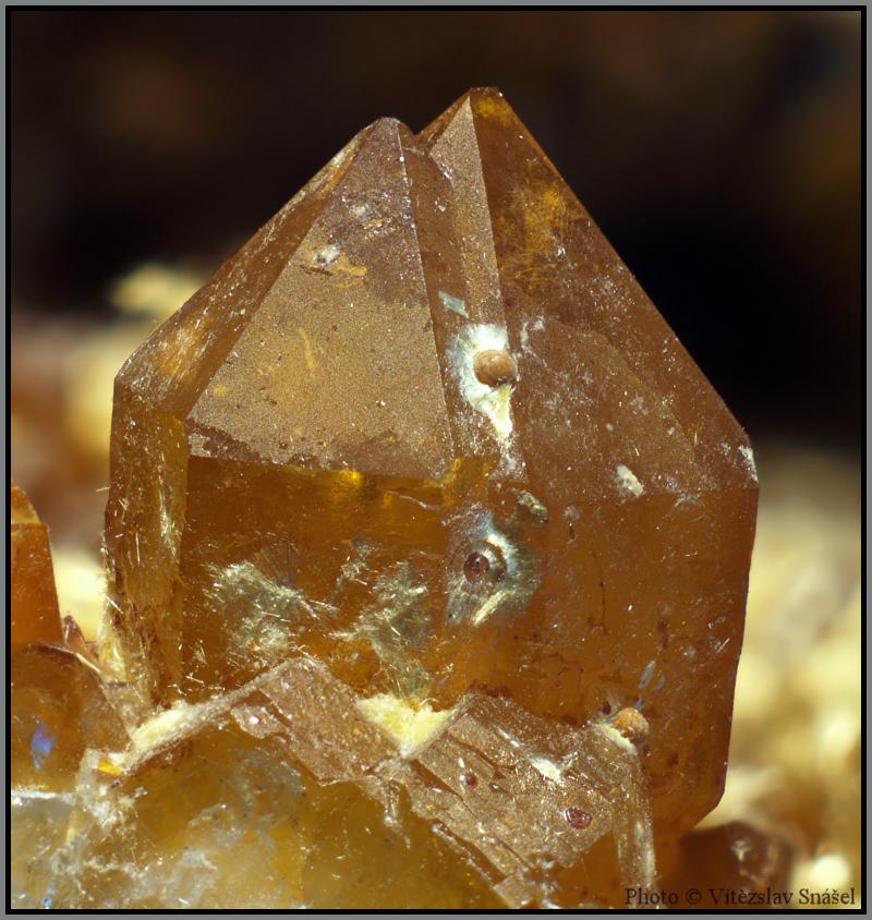 Quartz, Cacoxenite