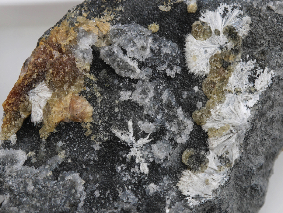 Dawsonite, Calcite, Dolomite
