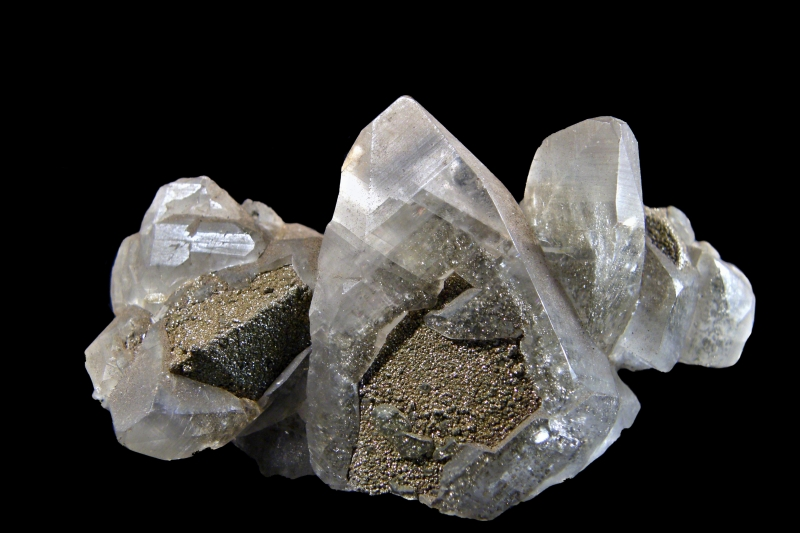 Calcite, Pyrite