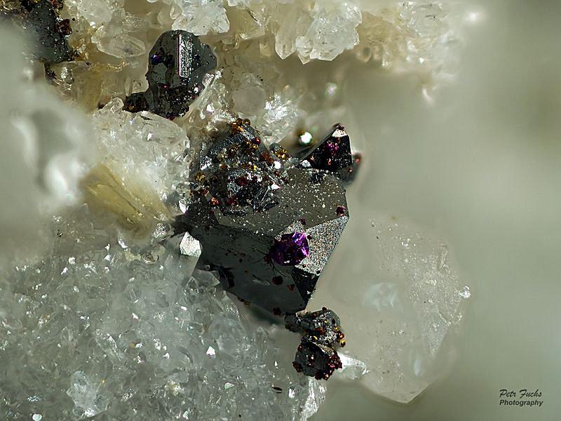 Tennantite, Chalcopyrite