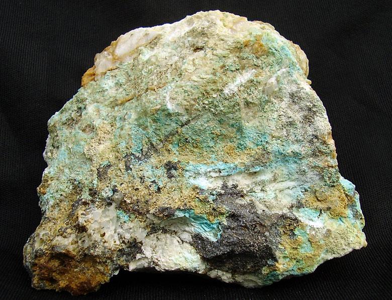 Chrysocolla, Sphalerite
