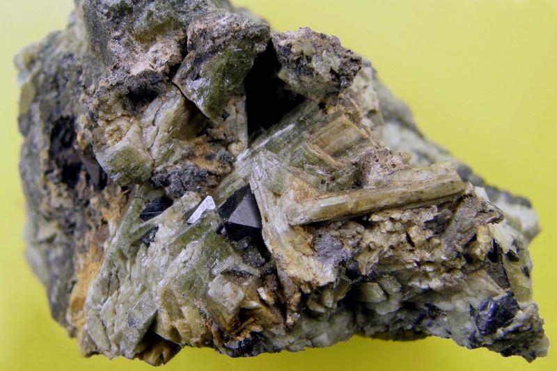 Magnetite, Diopside