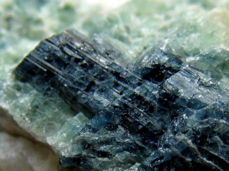 Elbaite (var. Indigolite)