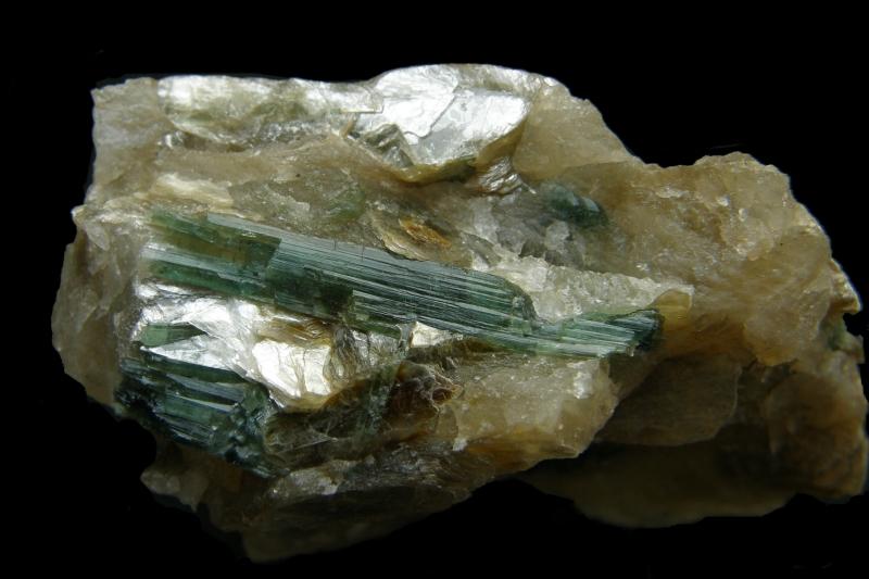 Elbaite (var. Verdelite)