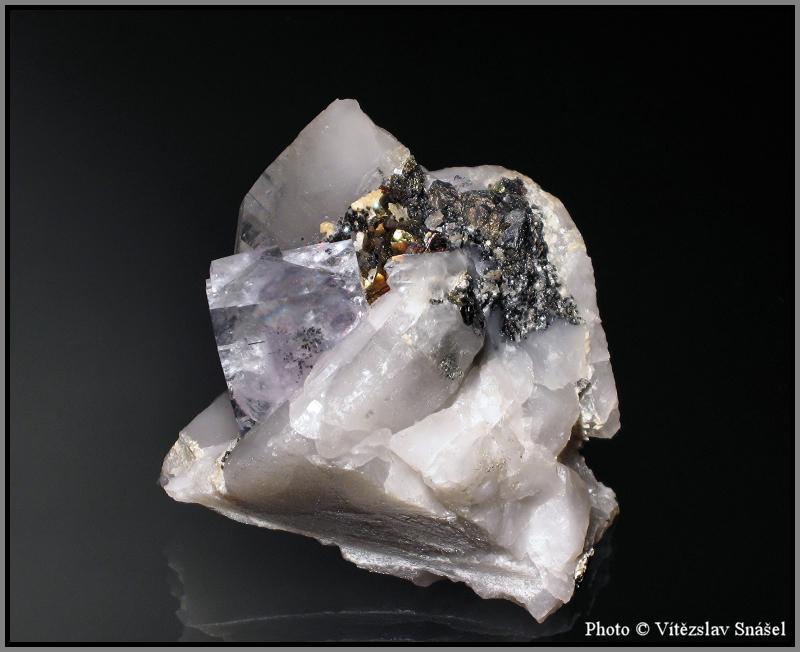 Fluorite, Pyrite, Quartz