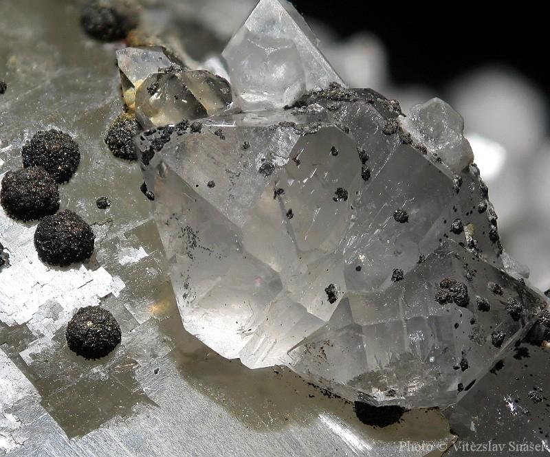 Quartz, Pyrite, Fluorite