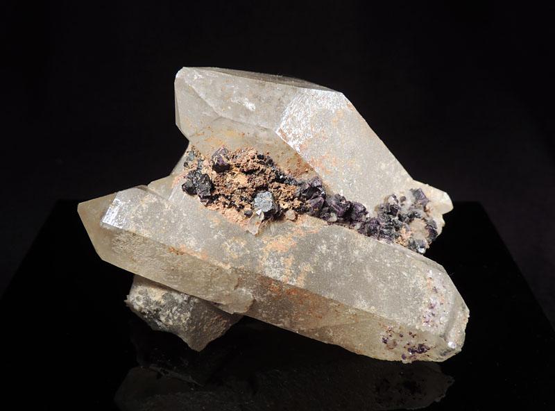 Quartz, Fluorite