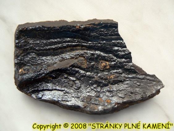 Siderite (var. Oligonite), Goethite