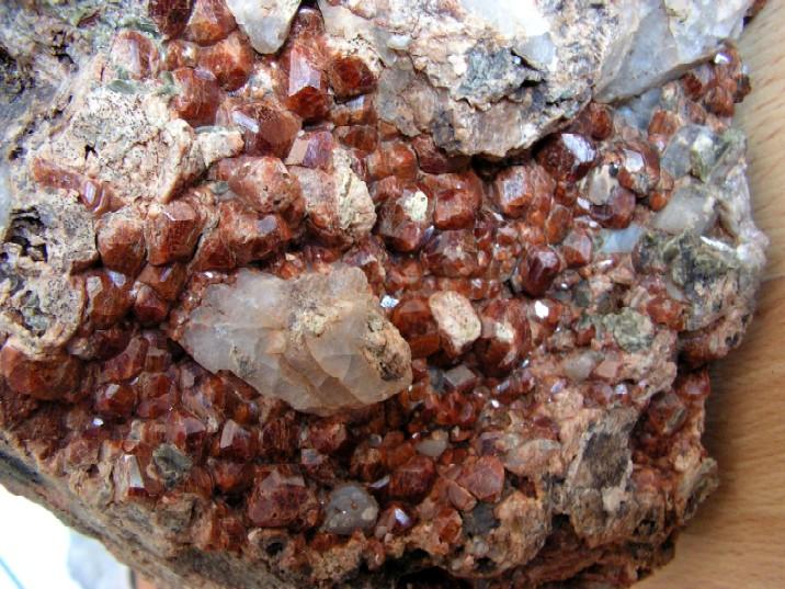 Grossular (var. Hessonite)