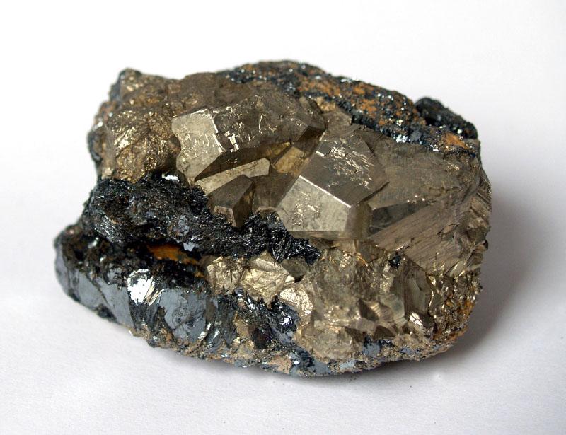 Hematite, Pyrite