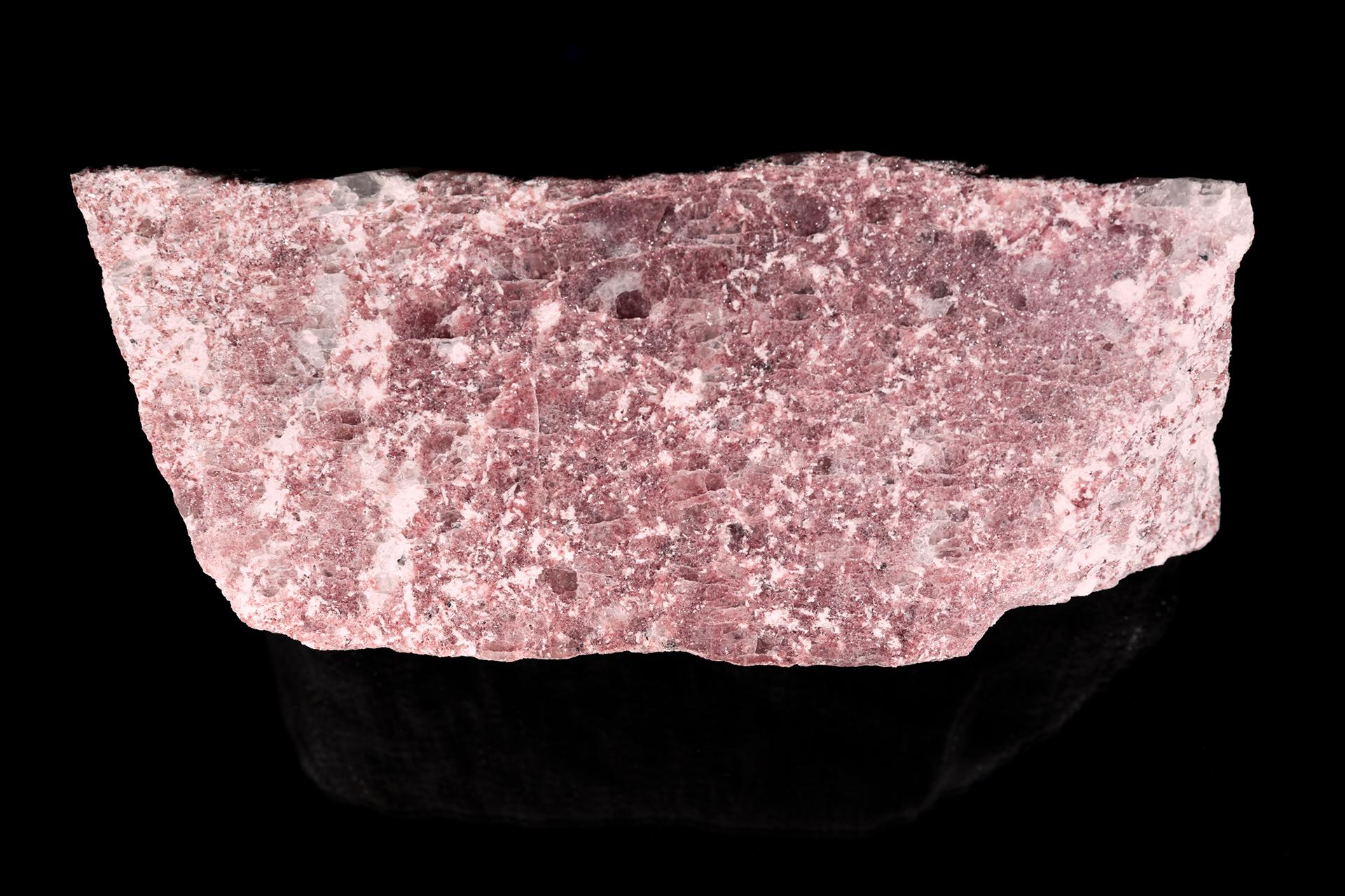 Lepidolite, Albite, Quartz