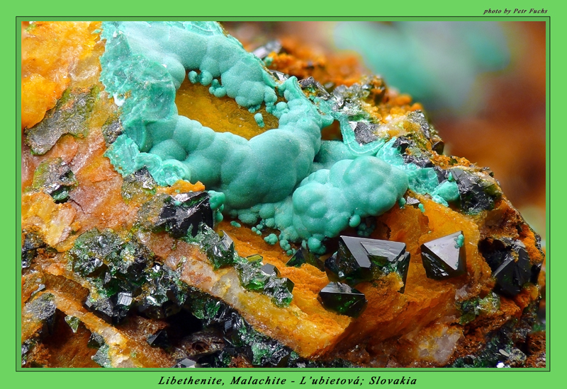 Malachite, Libethenite
