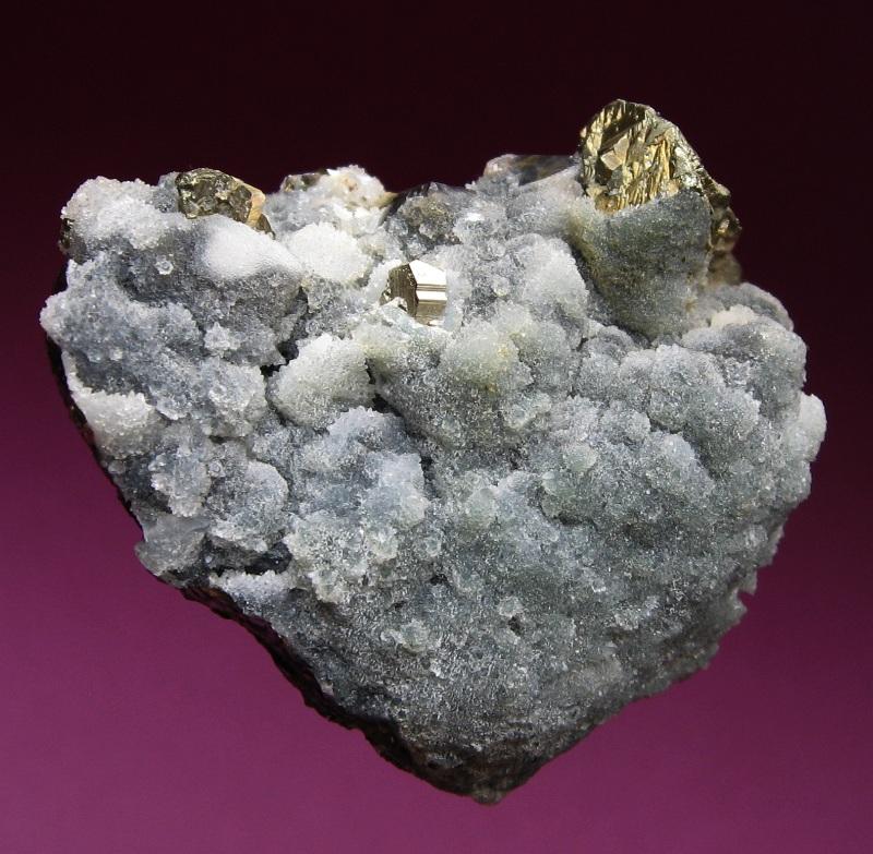 Quartz, Pyrite