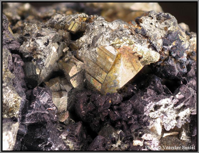 Pyrite, Sphalerite