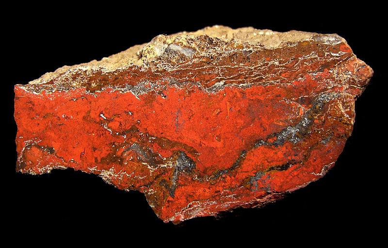 Jasper, Pyrolusite