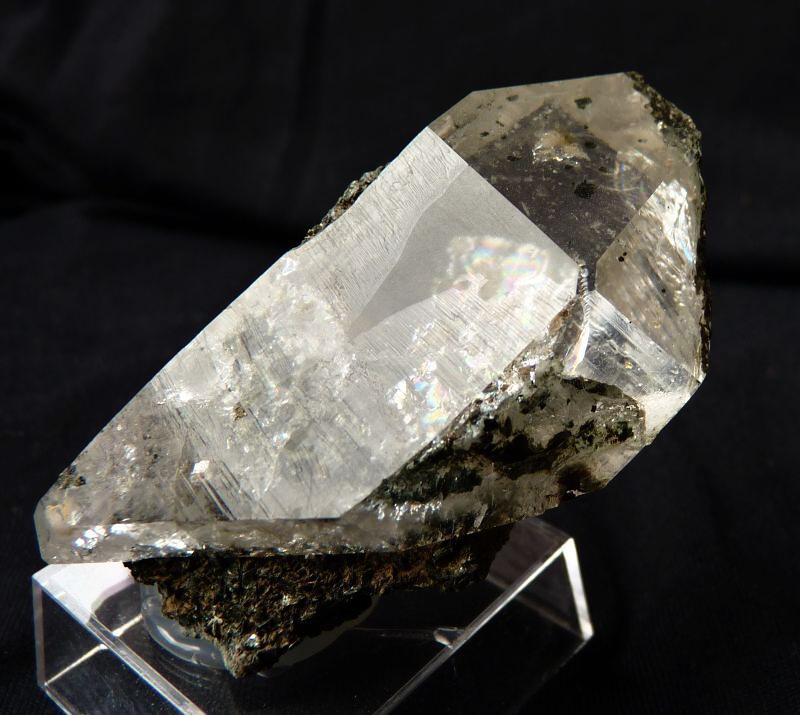 Quartz (var. Rock Crystal)