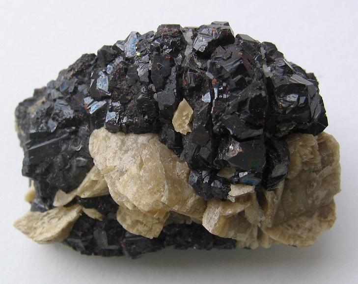 Siderite, Sphalerite
