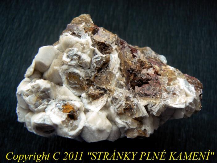 Calcite, Aragonite, Ankerite
