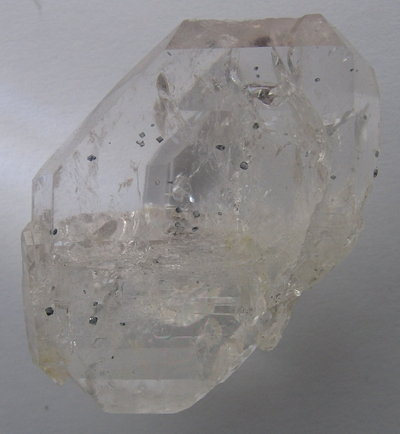 Quartz (var. Rock Crystal), Anatase