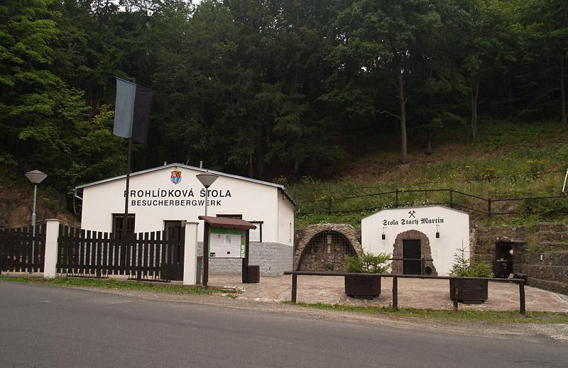 Krupka, štola Starý Martin, Czech Republic