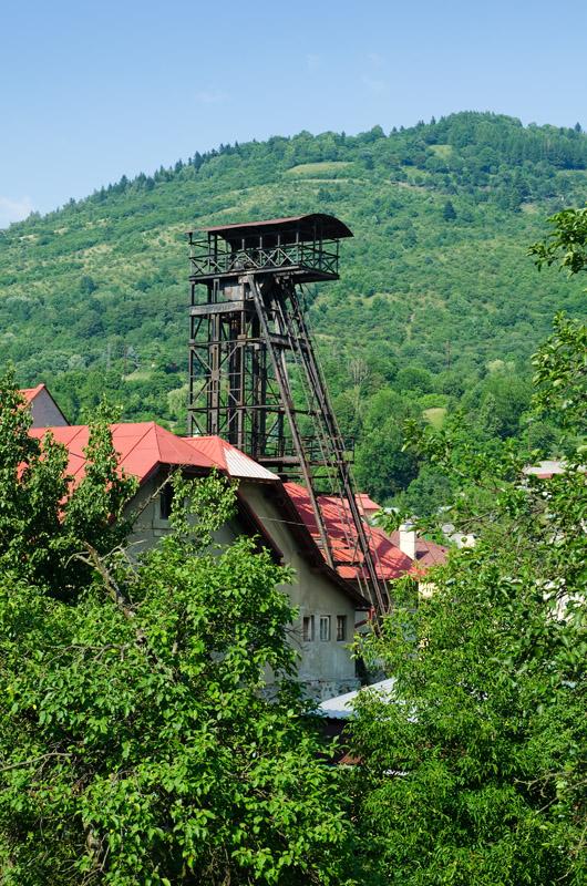 Kremnica, šachta Ferdinand, Slovakia